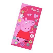 """Peppa Pig Beach Towel Girls Swim Garden Flowers Size 28""""x58"""