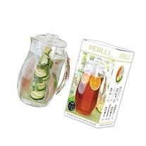 Perlli Tea and Fruit Infusion Pitcher With Ice Core Rod - 2.