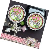 Personalized Badge Reel and matching Stethoscope ID Tag Set