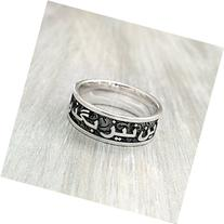 Personalized Persian Name Ring, Arabic Name Ring, Custom