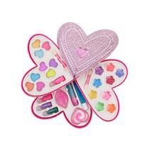 Petite Girls Heart Shaped Cosmetics Play Set - Fashion