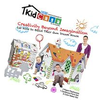 Picasso Tiles Paper Cardboard Playhouse