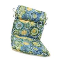 Pillow Perfect Outdoor Omnia Lagoon Rounded Corners Chair
