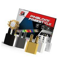 Pinblock - Creative Building Toy   Freestyle - Metallic  