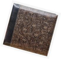 Pioneer 12 Inch by 12 Inch Postbound Embossed Sewn
