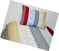 Plaids and Stripes Boys Twin Quilt