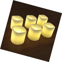 Planet Homeware LED Candles Set of 6 - Flameless Battery