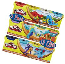 Play-Doh HASB5517BAMZ 4-Pack of Colors Gift Set Bundle