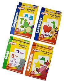 Playskool Flash Cards Math Basic Skills And Language Bundle