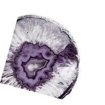 Plum Agate B , 20x20in