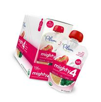 Plum Organics Mighty 4, Organic Toddler Food, Strawberry,