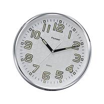 Plumeet 13-Inch Wall Clock with Silent Non-Ticking Night