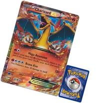 Pokemon Charizard EX JUMBO OVERSIZED Promo Card From