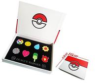 Pokemon Kanto Gym Badges League Pin Gen Set Collection by