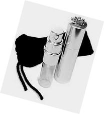 Glitzy Spritz Refillable Sprayer with Rhinestone Crown Lid