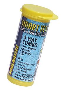 Poolmaster 22211 Smart Test 4-Way Pool and Spa Test Strips
