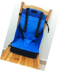 Go Anywhere Booster Travel Seat for Feeding Baby/Toddler On-