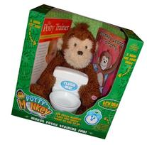 Potty Monkey - Potty Training Toy And Toilet Training Books