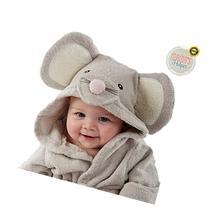 Premium Baby Hooded Bath Robe by Mama's Helper | Perfect