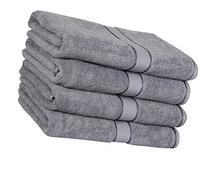 Premium Cotton Bath Towels  - 30 x 56 Inch - 100% Ringspun