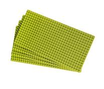 "Premium Light Green 10"" X 5"" Construction Base Plates - 4"