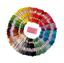 Premium Rainbow Color Embroidery Floss - Cross Stitch