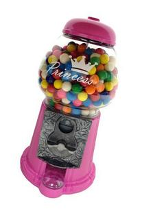 Princess in Pink Gumball Machine