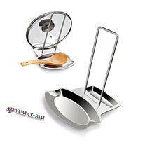 Yummy Sam Lid and Spoon Rest, Utensils Lid Holder Spoon