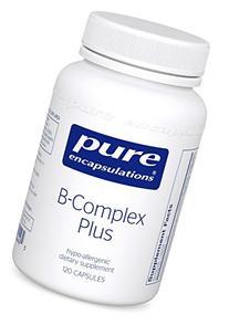 Pure Encapsulations - B-Complex Plus 120 VegiCaps