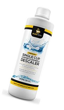 Pure Perk Coffee Machine Cleaner Descaling Solution for All