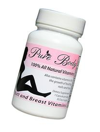 PureBody Vitamins - The #1 Butt and Breast Growth Pills -