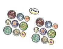 Quartet Bubble Push Pins, Assorted Designs