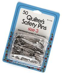 Quilting Safety Pin 2 inch Size 3 - 50 count