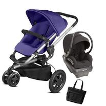 Quinny - Buzz Xtra Travel System with Bag - Purple and Black