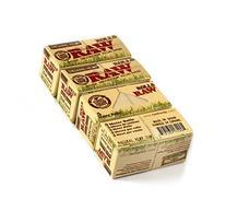 RAW Natural UNREFINED Hemp ORGANIC Rolling paper ROLLS - 4 x