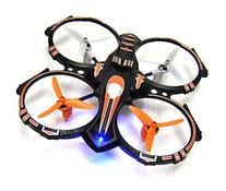 RC Stunt Drone Quadcopter w/ 360 Flip: Crash Proof, 2.4GHz,