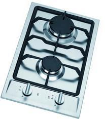 Ramblewood high efficiency 2 burner gas cooktop, GC2-43N
