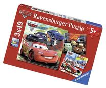 Ravensburger Disney Cars: Worldwide Racing Fun  Puzzles in a