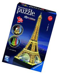 Eiffel Tower - Night Edition - 3D Puzzle