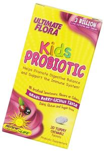 Ultimate Flora Kids Probiotic - 30 Chewable Tablets