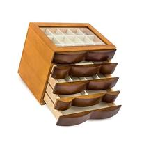 Real wood / Wooden Jewelry Box Case SI-1607B