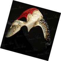 Kayso® Red/silver Phantom Mask RED Musical Half Face