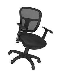 Harrison Swivel Chair- Black