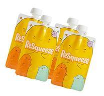 Resqueeze Reusable Food Pouch 6 oz
