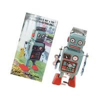 Retro Classic Wind-up Robot