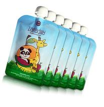 Zapadilly Reusable Food Pouch  Cute Durable and Fun