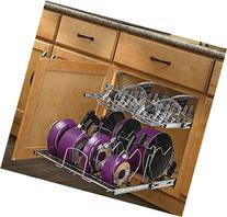 Rev-A-Shelf - 5CW2-2122-CR - 21 in. Pull-Out 2-Tier Base
