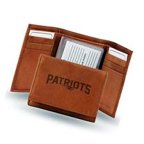 Rico - NFL Embossed TriFold Wallet, New England Patriots