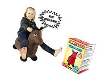 Riding Horse for Kids Inflatable Jumping Horse with Real