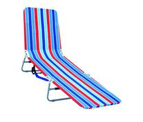 Rio Brands Backpack Lounger Multi Position, Red Blue and